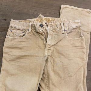 Men's American Eagle beige jeans